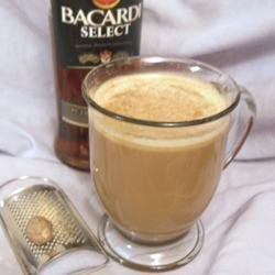 Single Cup Hot Buttered Rum