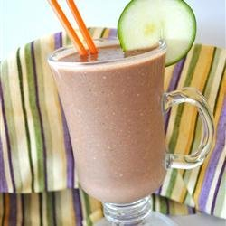 Don't Knock it Until You Try it Zucchini Chocolate Banana Nut Milkshake