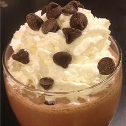 Delicious Chocolate Shake