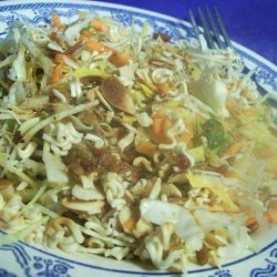 Crunchy Asian Coleslaw Salad recipe