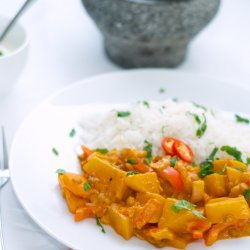 Lentils and Potatoes Curry