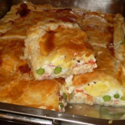 Country Style Egg and Bacon Pie