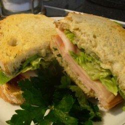 Smoked Turkey and Stilton Sandwich recipe