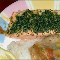 Cumin Coriander Crusted Salmon