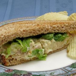 Twisted Tuna Fish Sandwich