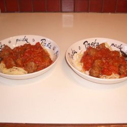 Spaghetti & Meatballs Kid Style
