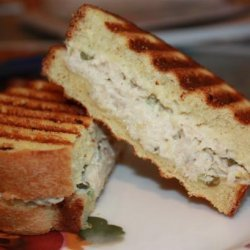 Tuna and Gruyere Panini recipe