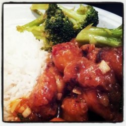 Chinese Orange-Sesame Chicken