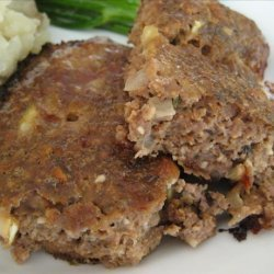 Apple-Stuffing Mini Meatloaves