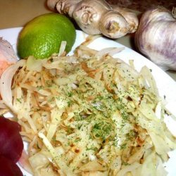 Easy Gingered Cabbage