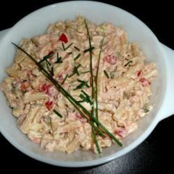 Creamy Salmon and Pasta Salad