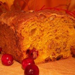 Cranberry-Walnut Pumpkin Loaves recipe