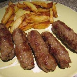 Cevapcici (Cevapi) Balkan Sausage Sandwiches