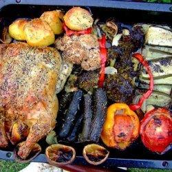 All-In-One Roast Chicken Dinner