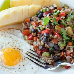 Gallo Pinto (Costa Rican Rice and Beans)
