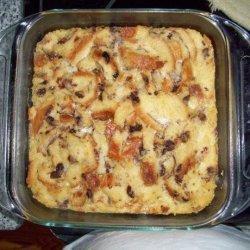 Cinnamon Swirl Raisin Bread Pudding