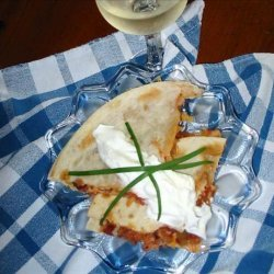 Mexican Bacon Quesadillas recipe