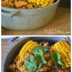 Puerto Rican Arroz Con Pollo (Rice and Chicken)