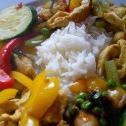 Spicy Chicken Stir-Fry recipe