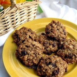 Egg Free Oatmeal Cookies