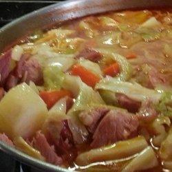 Portuguese Bean Soup recipe