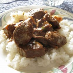 Thai Beef Curry With Bamboo Shoots recipe