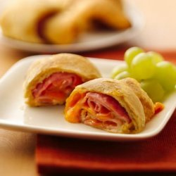 Ham & Cheese Crescent Roll Ups