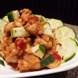Thai Style  Peanut Chicken