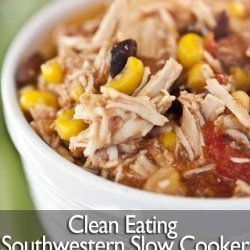Slow Cooker Southwestern Chicken And Beans