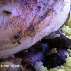Assyrian Chicken and Potatoes With Yellow Rice