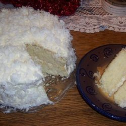State Fair Winning Coconut Cake