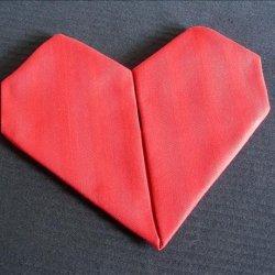 Serviette/Napkin, from the Heart