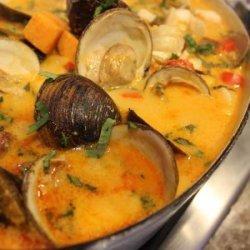 Thai seafood stew