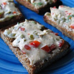 Spanish Olive & Cream Cheese Canapes (Zwt-8)
