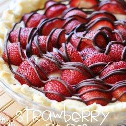 Strawberry Strawberry and Cream Pie
