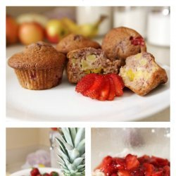 Tropical Fruit Muffins