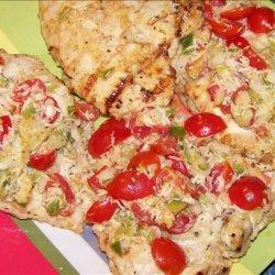 Caesar and Lemon Chicken Bruschetta