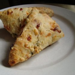 Apple-Smoked Bacon and Cheddar Scones recipe