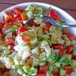 South African - Roasted Eggplant Salad