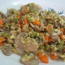 Brown Rice-Mushroom Pilaf