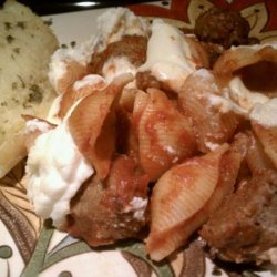 Cheesy Italian Meatball Casserole recipe