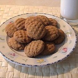 Reduced Fat Peanut Butter Cookies