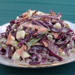 Blue Cheese Coleslaw Salad