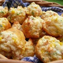 Mini Corn & Ham Muffins