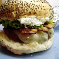 Bacon Cheeseburgers With French Onion Dip