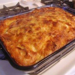 Panera/Saint Louis Bread Co's Asiago Bagel Breakfast Bake