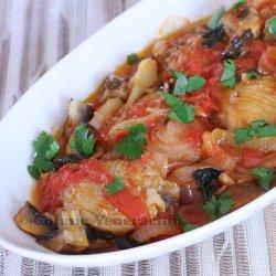Chicken in Tomato Mushroom Sauce