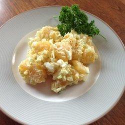 Fake Potato/Rutabaga Salad (Low Carb)