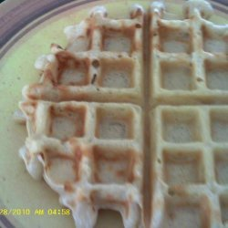 Beer Batter Waffles