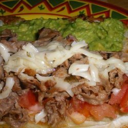 Tex-Mex Cheesesteaks recipe